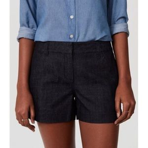 Loft Dark Denim Rivieria Shorts